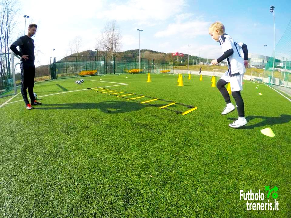 futbolo treniruotė