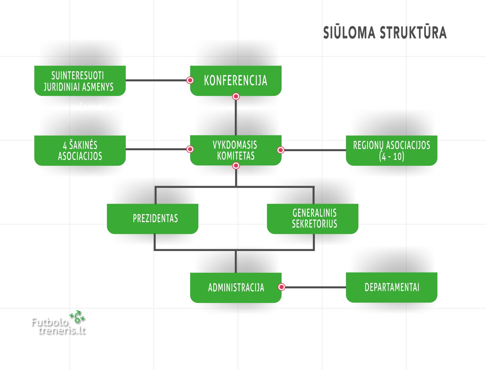LFF struktūra