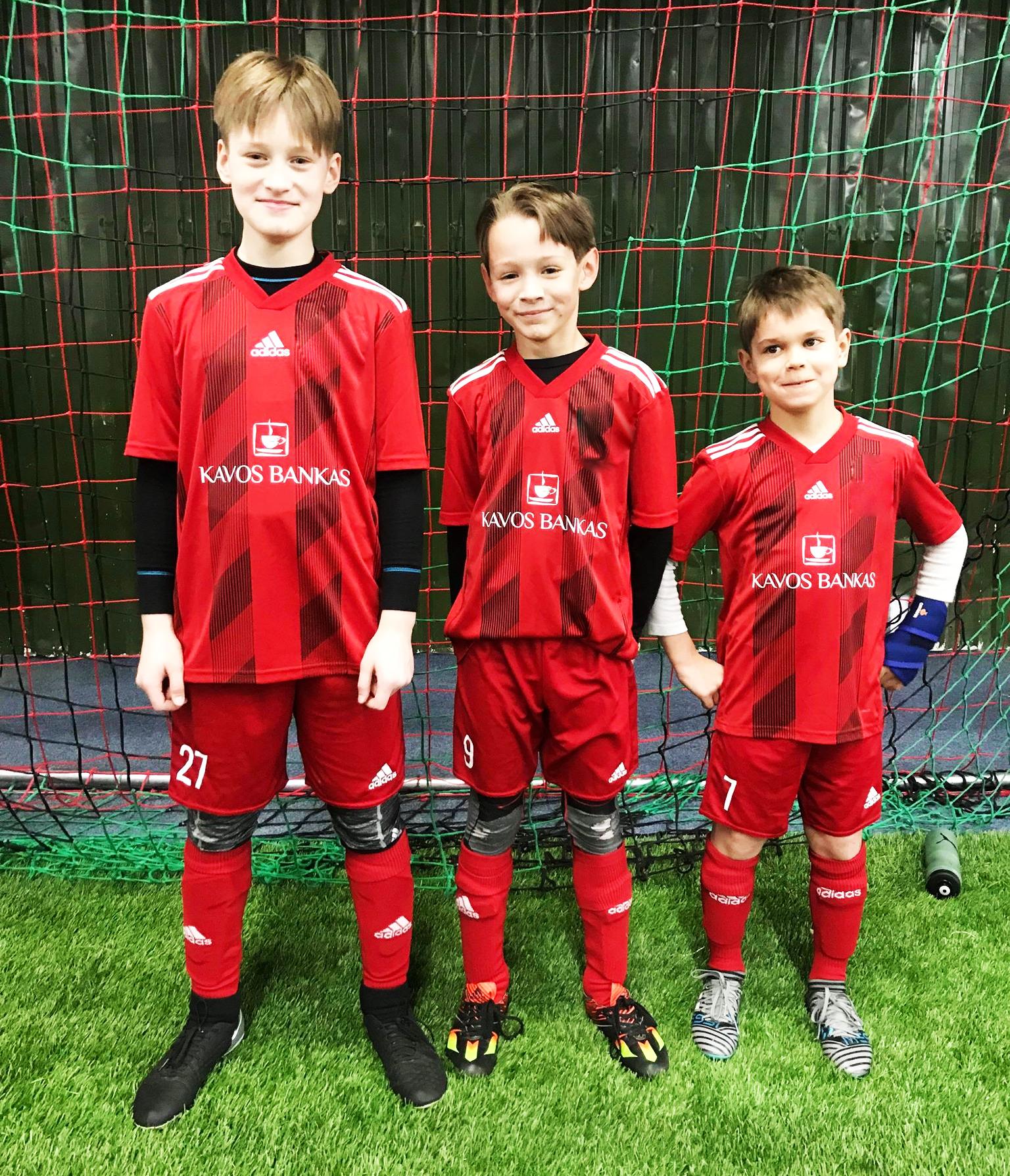 Futbolo vaikai