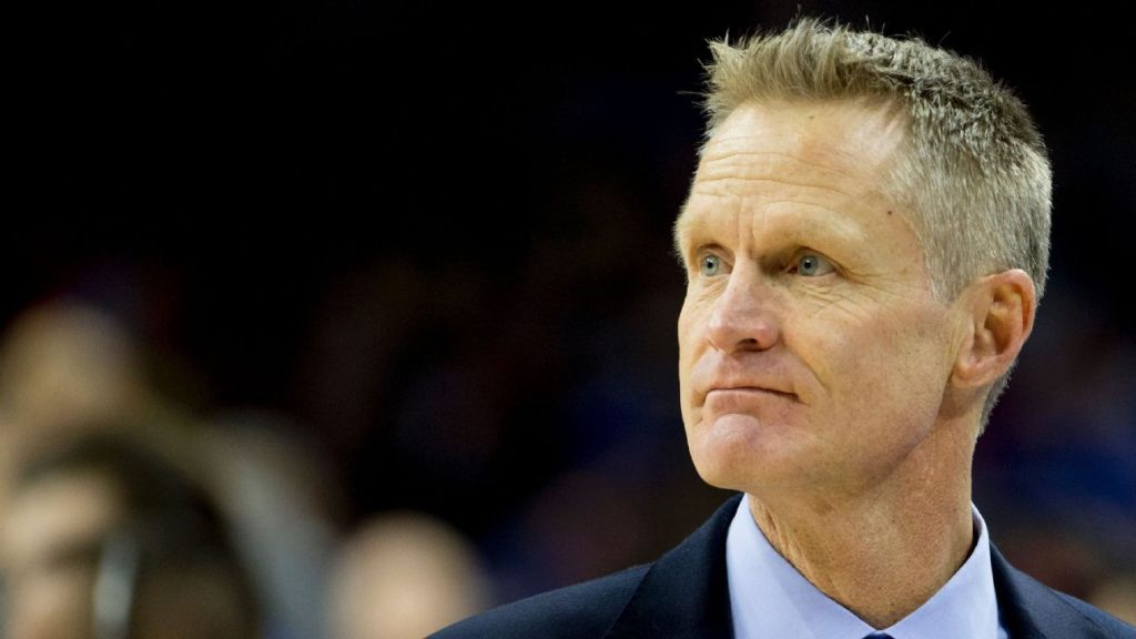 Steve Kerr, Golden State Warriors treneris: