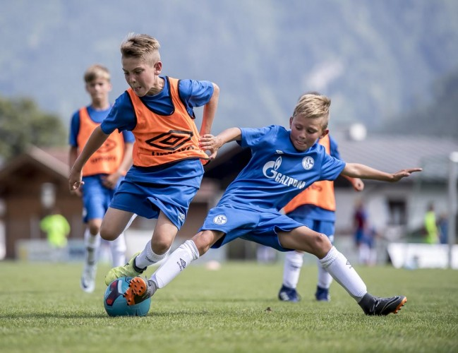Futbolo akademijos Shalke 04 vaikai