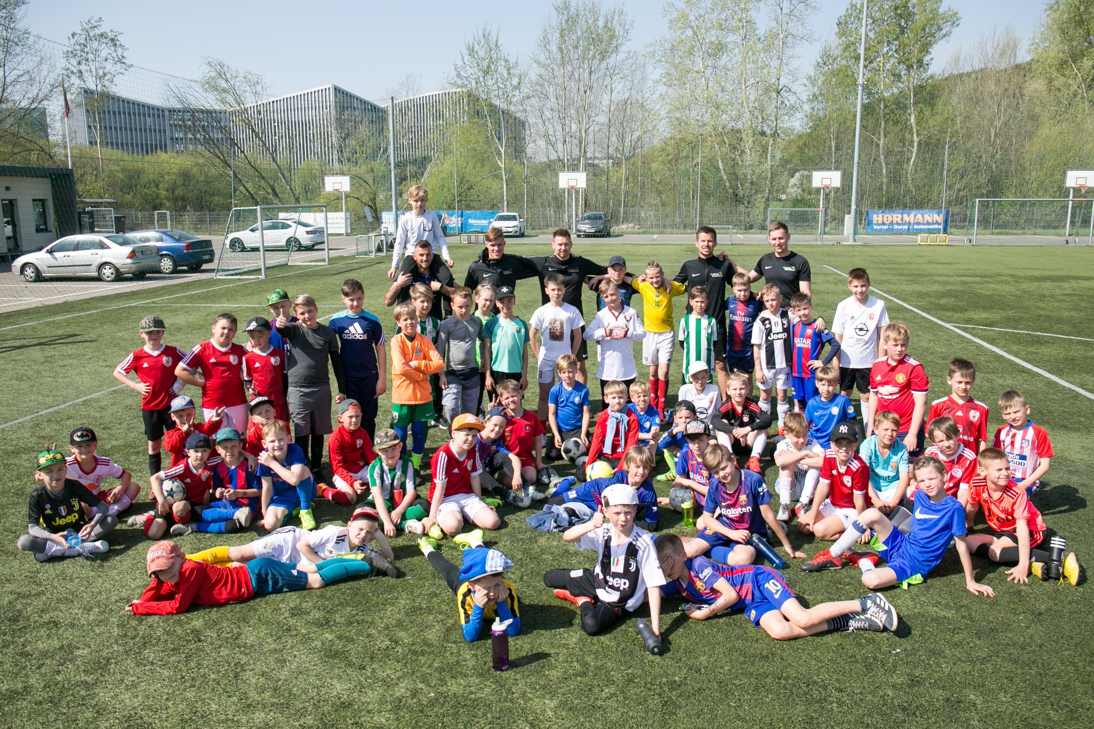 Futbolo dienos stovykla
