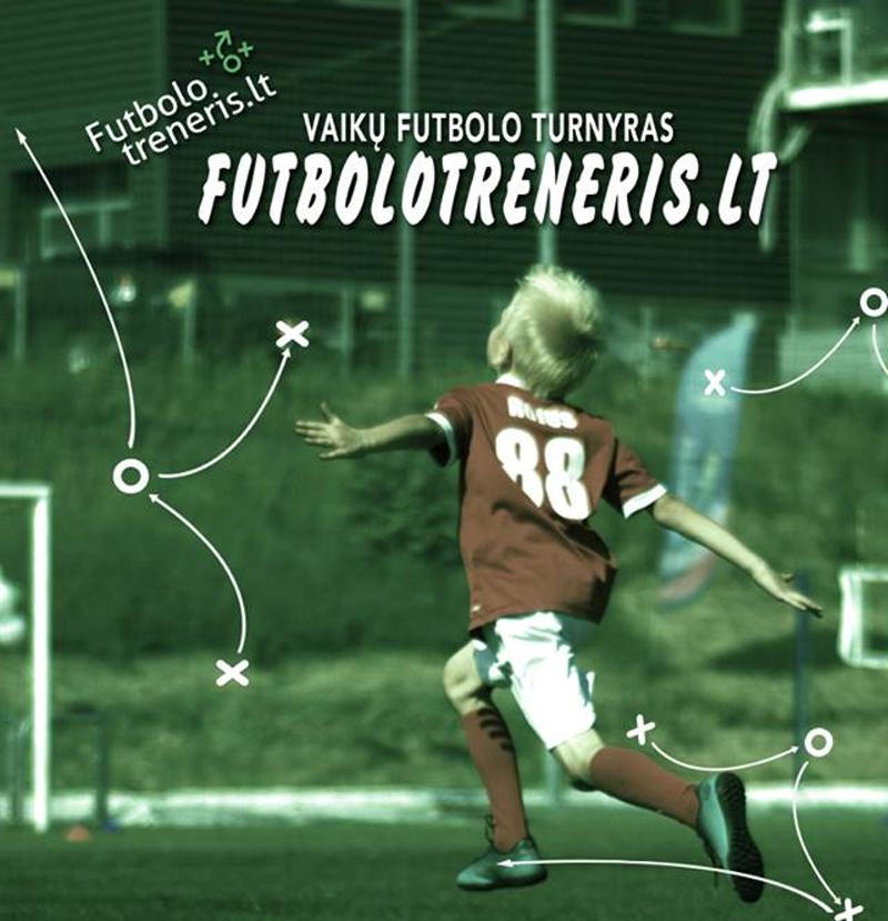 vaiku futbolo turnyras