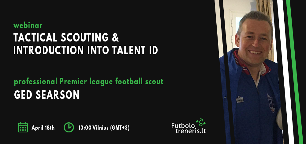 Webinar with football scout